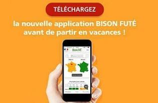 Lancement de l'application Bison Futé