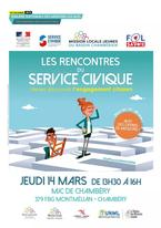 """Speed Dating"" Service civique jeudi 14 mars 2019"
